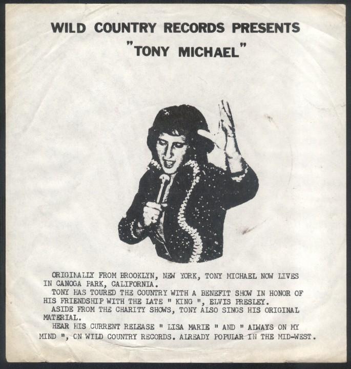 Elvis Presley(Tony Michael)