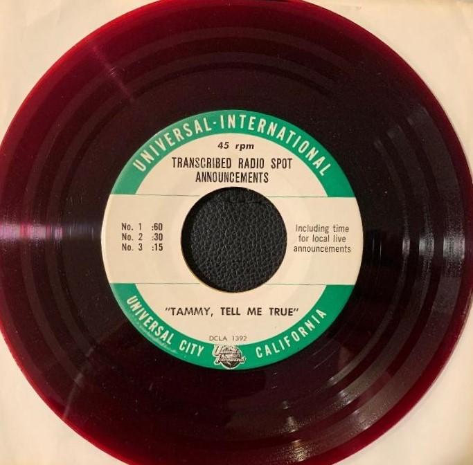 Tammy Tell Me True Radio Interview (1961)