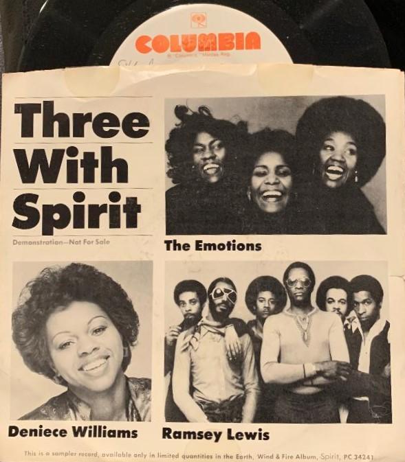 Three With Spirit Special Promo
