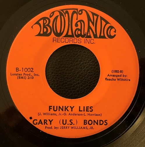 Gary (U.S.) Bonds