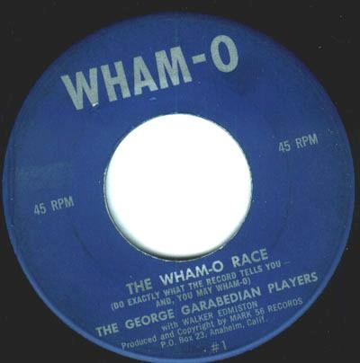 WHAM-O RACE / Magic Record (George Garabedian)