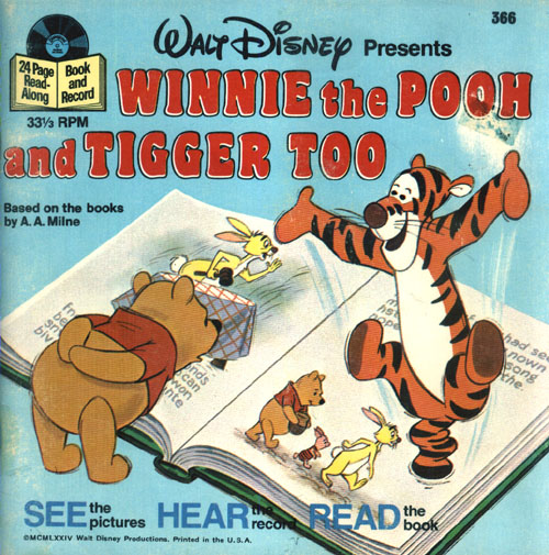 Winnie the Pooh & Tigger Too